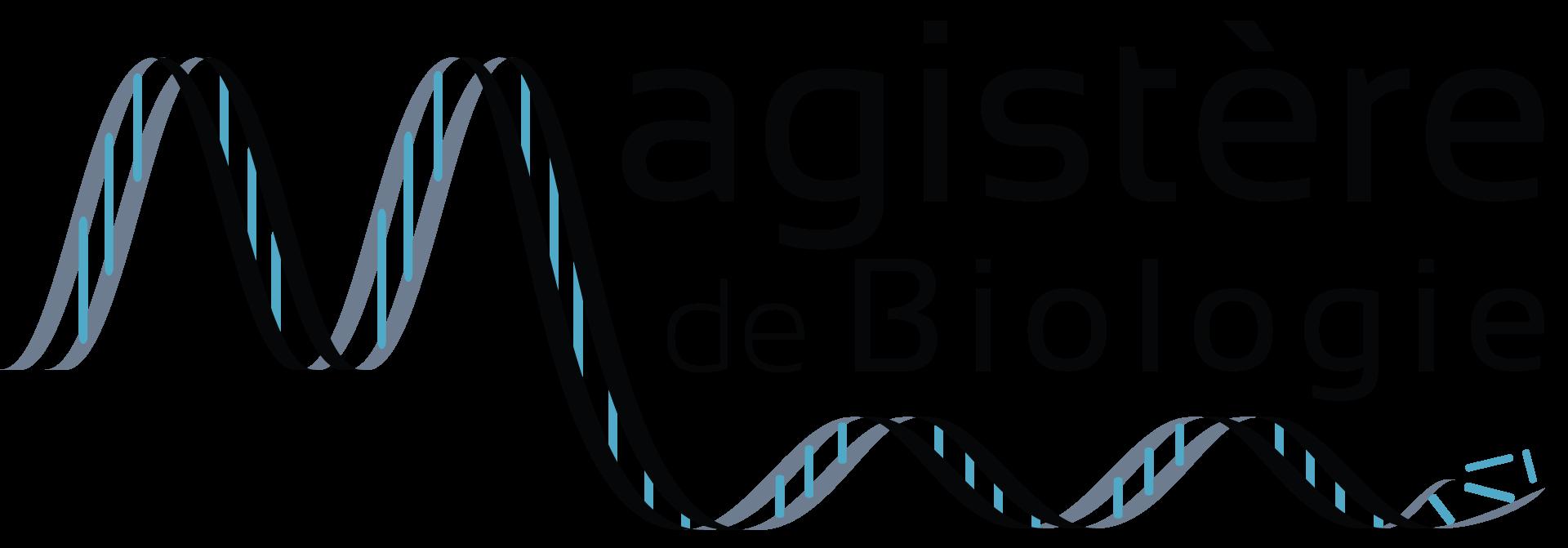 MAGISTÈRE DE BIOLOGIE